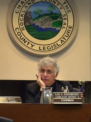 Ilan Schoenberger in a file photo taken at the Rockland County Legislature.