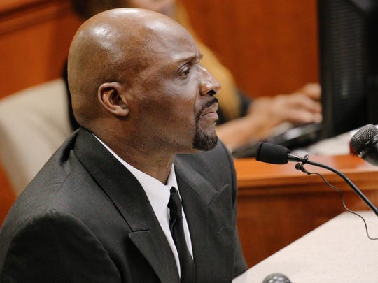Floyd Dent, 57, appears in court on Thursday, May 28,