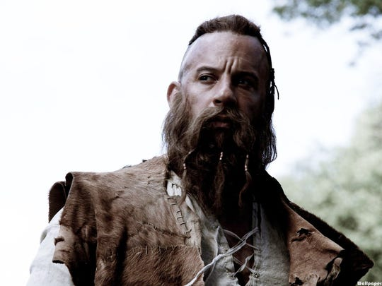 Vin Diesel and his amazing beard are out for witch
