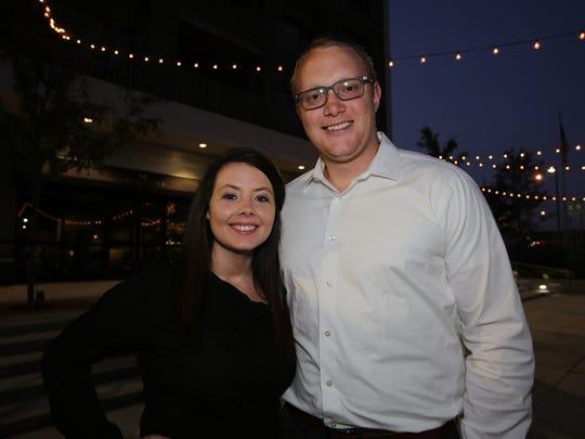 Brina Randles and Ben Thomas