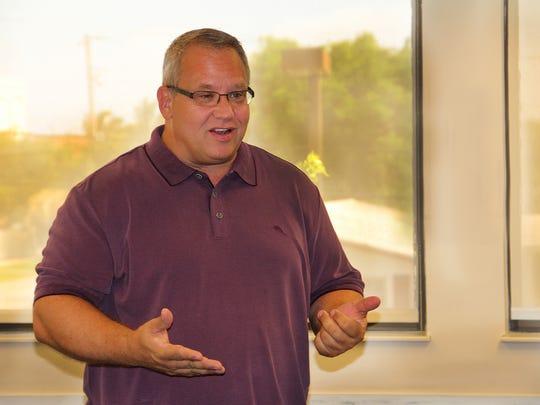 Michael DeLeon, founder of Steered Straight, a non-profit