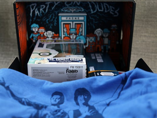 Loot Crate 'Time' October 2015 box