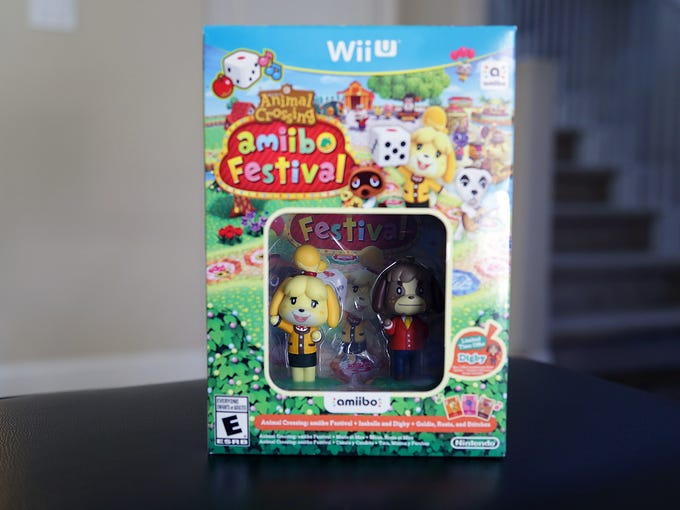 Animal Crossing: Amiibo Festival Bundle unboxing.