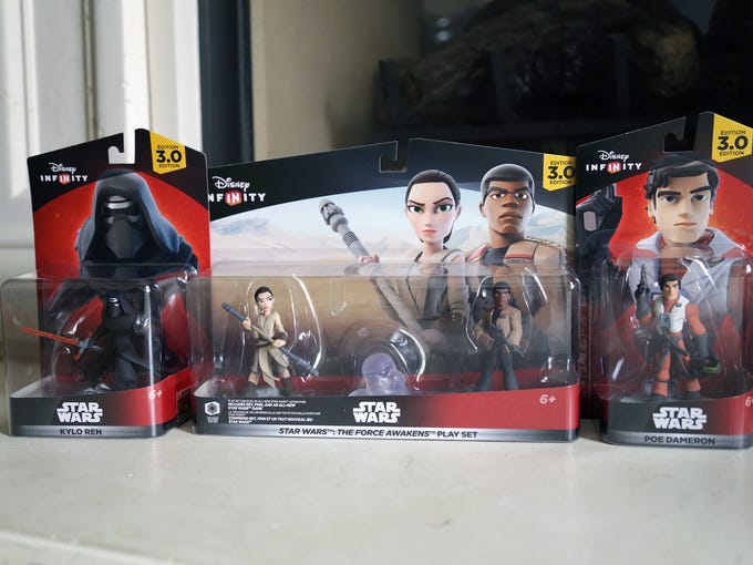 Toys from the Disney Infinity 3.0: The Force Awakens