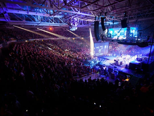 Christian music's largest annual tour, Winterfest,