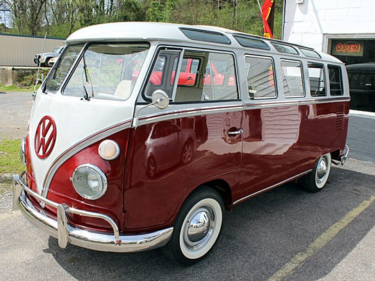 This VW bus fixed up by Shelden is worth around $125,000.