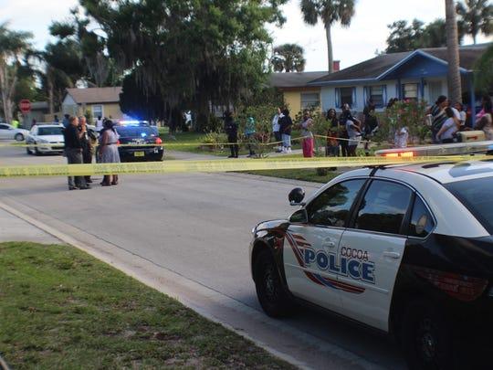 The scene of the April 2016 murder-suicide in Cocoa.