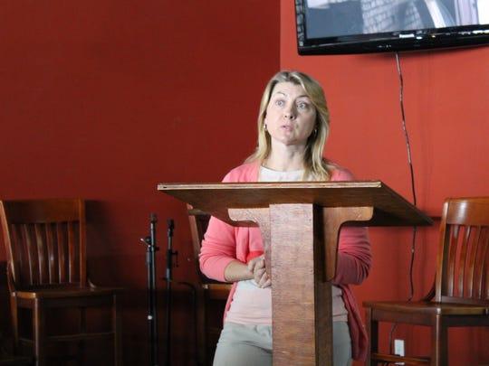 Karen Anderson of Houston and Stewart County health