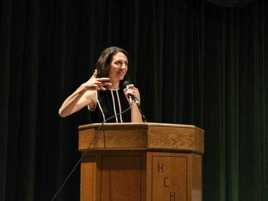 Tara Milliken Wiese was the guest speaker for the evening.