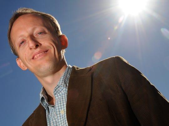 NMSU astronomy professor James McAteer