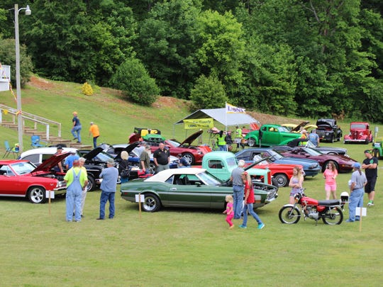 Classic cars were also a part of the big show.