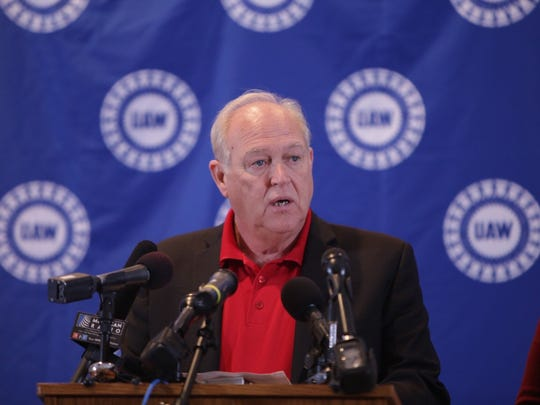UAW President Dennis Williams endorsed Hillary Clinton for the Democratic Presidential nomination.
