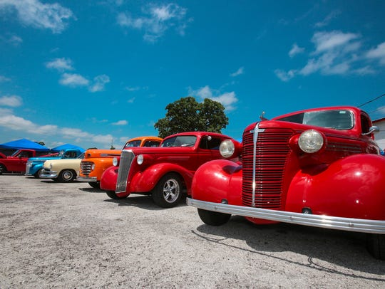 The Street Machine Nationals will have the fairgrounds