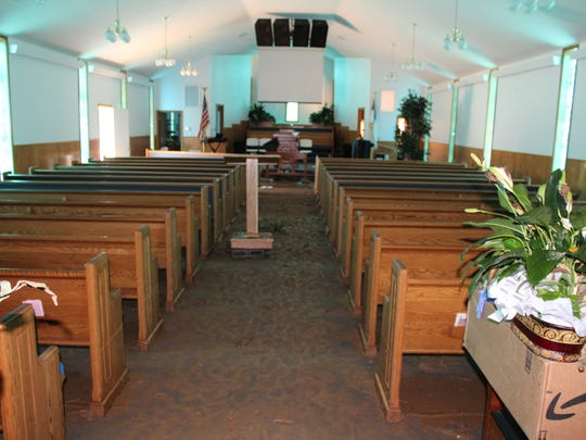 A walk-through of buildings on the Big Rock Baptist