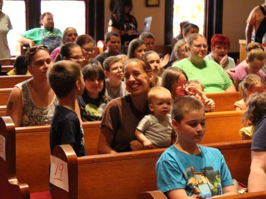 Erin United Methodist Church held a Back to School
