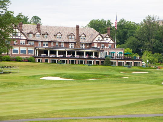 The clubhouse at Baltusrol Golf Club in Springfield.