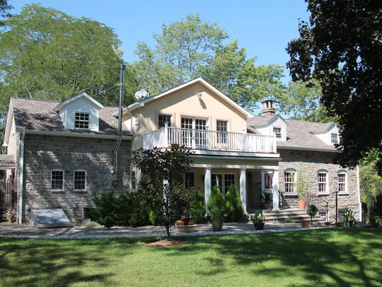Originally built in 1780, this home has a 2009 two-story