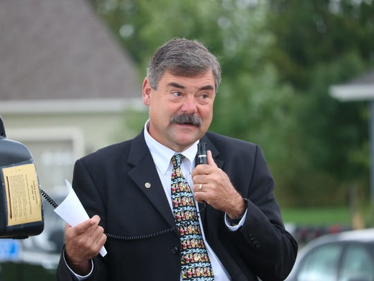 Sheboygan Area School District Superintendent Joe Sheehan