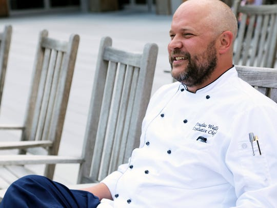 Chef Douglas Walls hopes to use the exposure generated