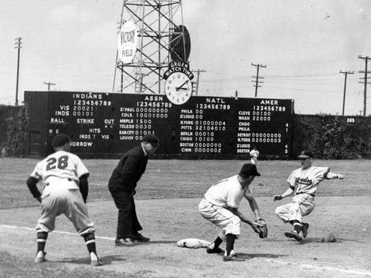 Victory Field in the 1950s.