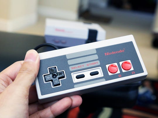 The NES Classic Edition controller sure looks familiar.