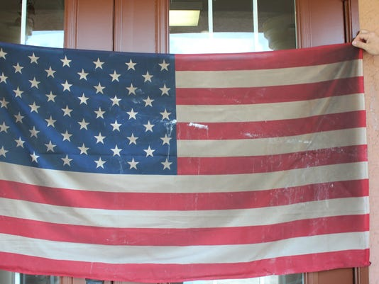 American Flag from Groza Builders