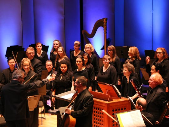 Langree led a gem by J.S. Bach, Cantata No. 150, with soloists from CCM and the May Festival Chamber Ensemble.