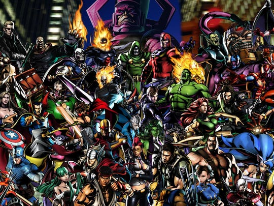 Ultimate Marvel vs. Capcom 3 HD features a ginormous cast.