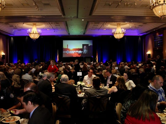 "Scottsdale Mayor Jim Lane delivered his ""State of the"