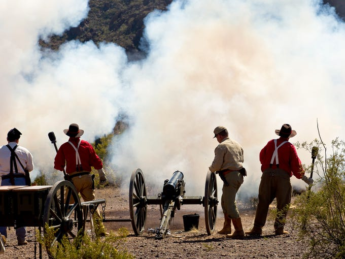 Civil War battles that took place in Arizona and New