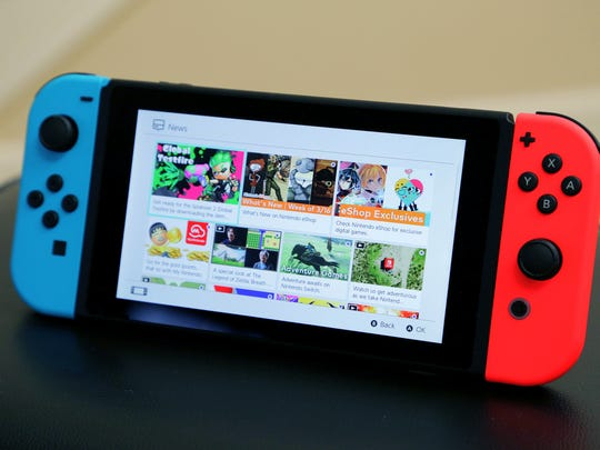 The Nintendo Switch lets you play in portable mode as well as a home console by connecting it to a TV.