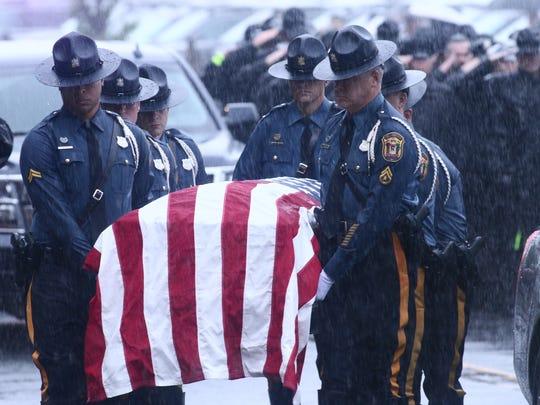 Fallen Delaware State Police trooper Cpl. Stephen Ballard
