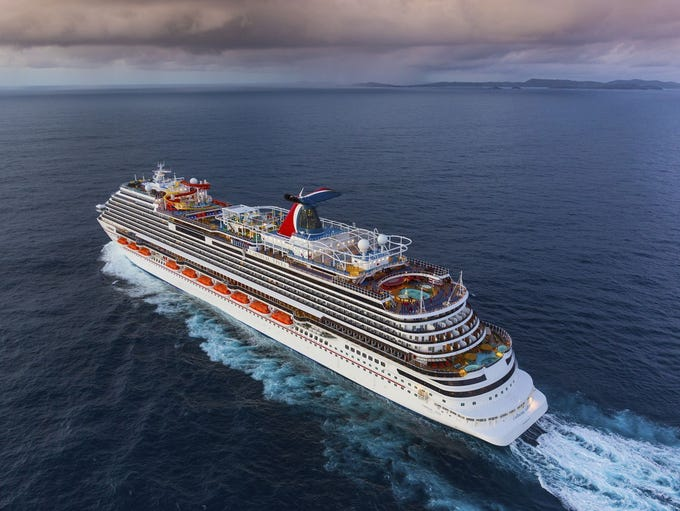 Carnival Cruise Line's newest ship is the 3,954-passenger