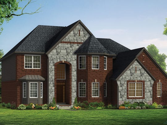Darlington in Canton by Singh Homes II, LLC. is a Blue Ribbon winner for homes base priced over $450,000 and under $525,000.