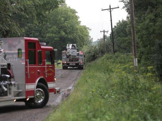 Richland County flash flood warning