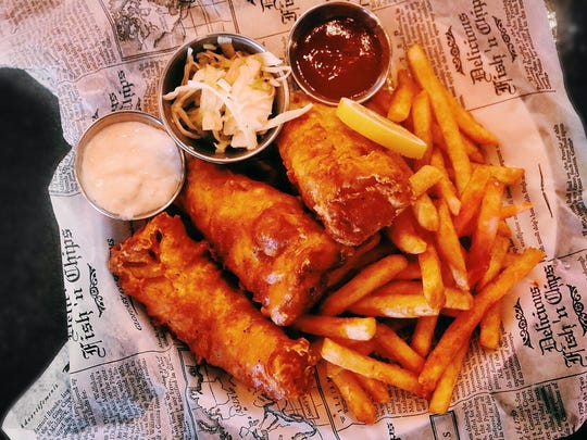 The Pitch serves more than pizza. Fish and chips are