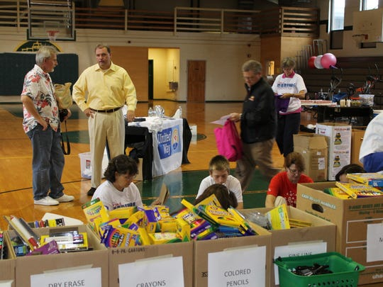 United Way Sumner County hopes to provide backpacks and school supplies for 1,300 students in the 2019 Stuff the Bus campaign.