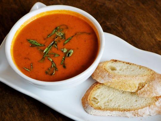Provence Breads' tomato soup.