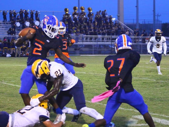 Action from Friday, Oct. 6, 2017 game between Cape