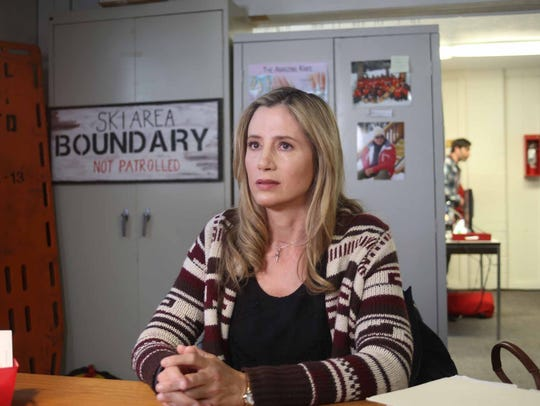 Mira Sorvino as Susan Lemarqe in the action/inspirational