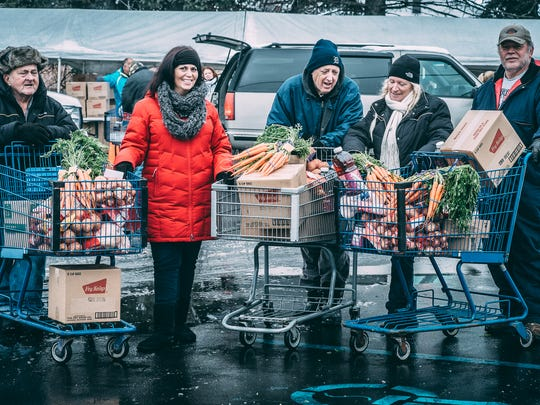 Forgotten Harvest food provides a vital lifeline for their clients, helping them meet monthly expenses with the extra dollars they save on food purchases.