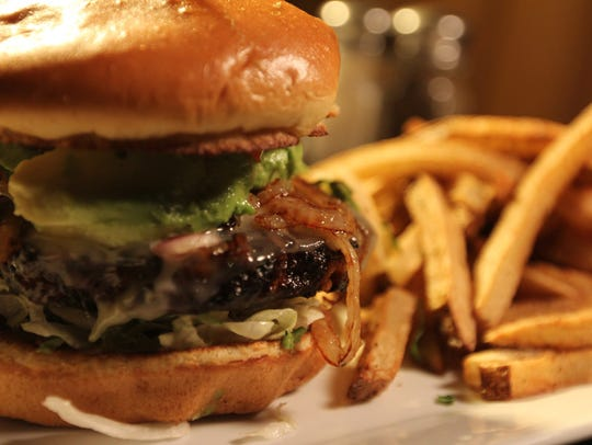 Black Bean Burger at The Social Hall, which took over