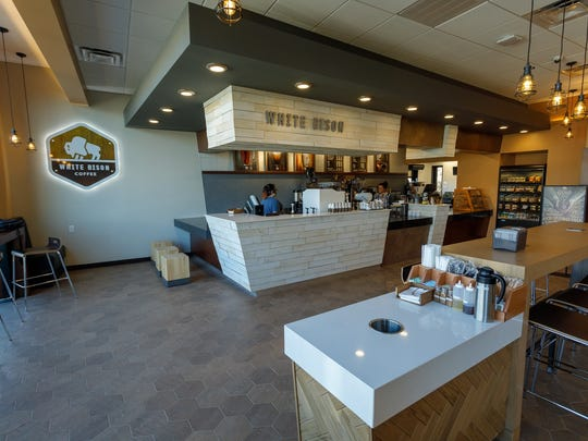 Twice Daily convenience stores has opened White Bison Coffee shops across Middle Tennessee.