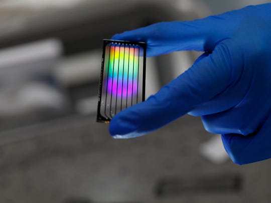 File shot from a Helix laboratory. Helix is a personal genomics company based in the Bay Area.