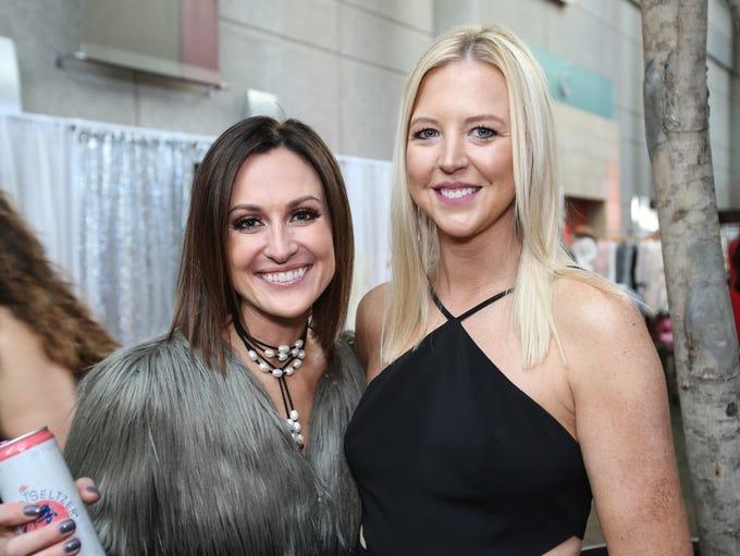 Laina Swick and Allison Gutty