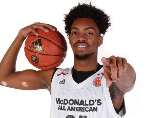Jordan Brown, one of the top recruits in the 2018 class,