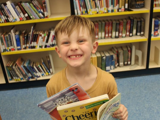 Northport students were very excited that they were able to take some books home for the summer, thanks to book drives from 1 PSL Church and First United Methodist of Port St. Lucie.