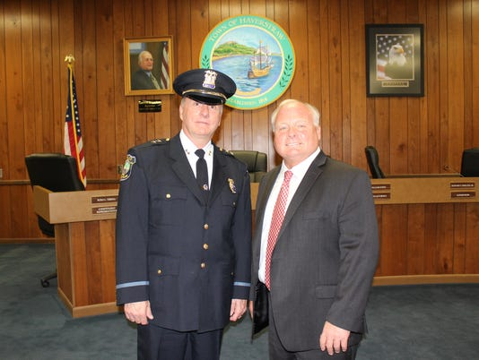 Haverstraw Police Chief Murphy sworn in