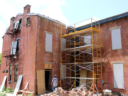 Thebuilding at 18 Mulberry St.in Mount Auburn before