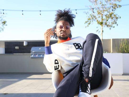 Hip-hop artist Preauxx.
